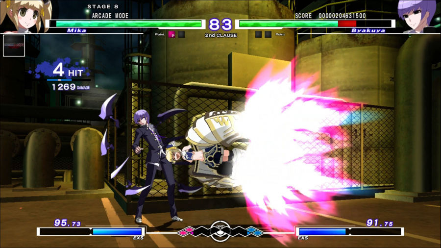 Under Night In-Birth Exe:Late[st] Review - Screenshot 1 of 3