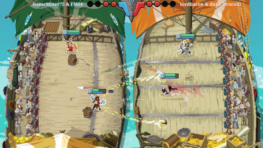 Strikers Edge Review - Screenshot 1 of 3