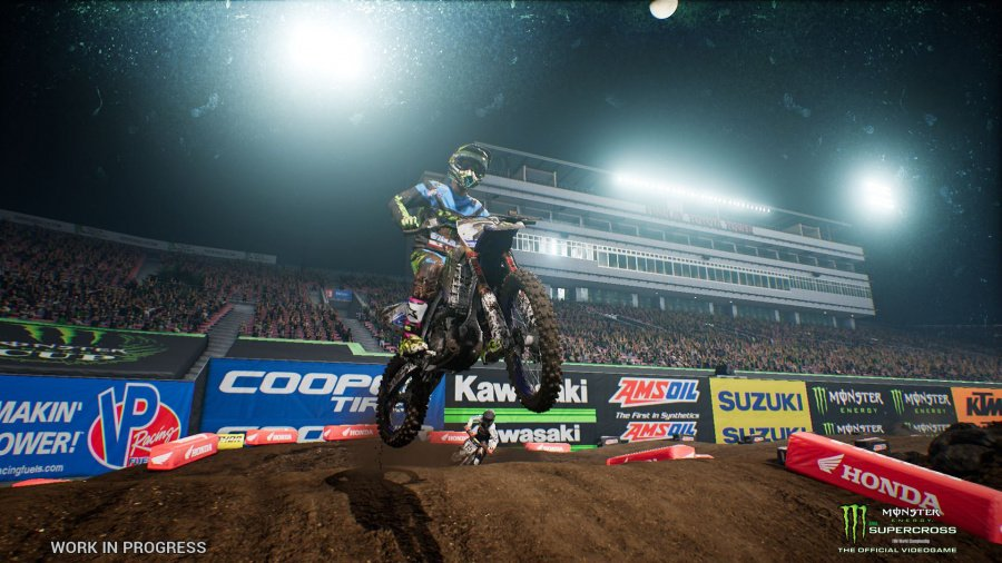 Monster Energy Supercross: The Official Videogame Review - Screenshot 1 of 3