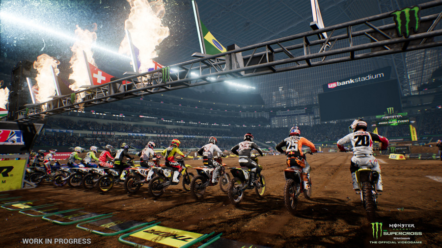 Monster Energy Supercross: The Official Videogame Review - Screenshot 2 of 3