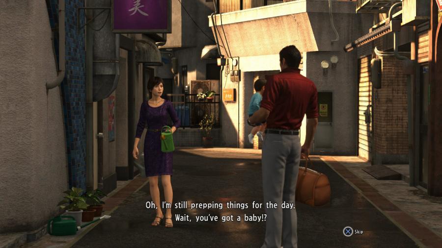 Yakuza 6: The Song of Life Review - Screenshot 1 of 5