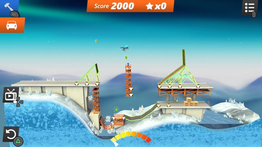 Bridge Constructor Stunts Review - Screenshot 3 of 3