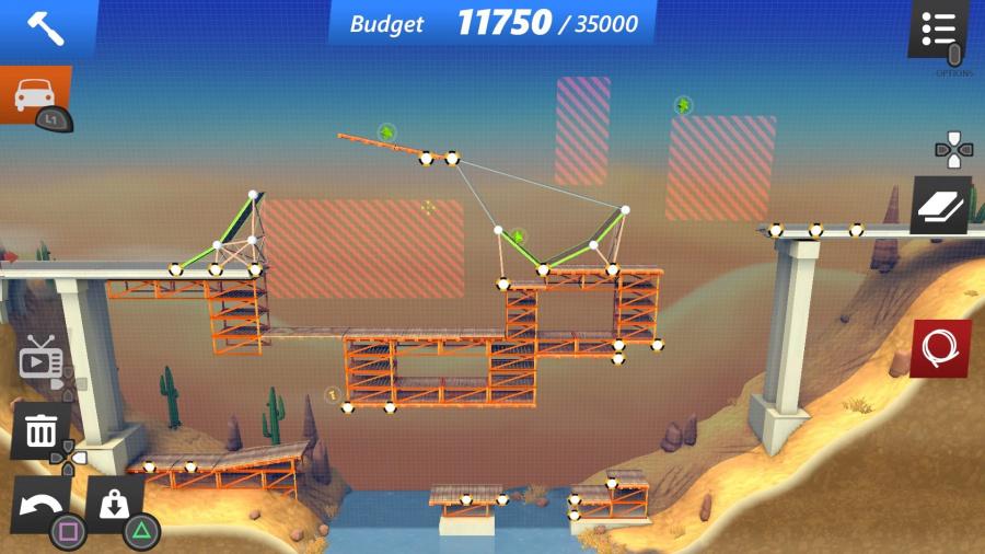 Bridge Constructor Stunts Review - Screenshot 2 of 3
