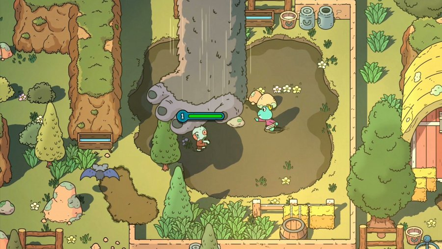 The Swords of Ditto Review - Screenshot 2 of 4
