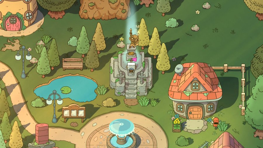 The Swords of Ditto Review - Screenshot 3 of 4