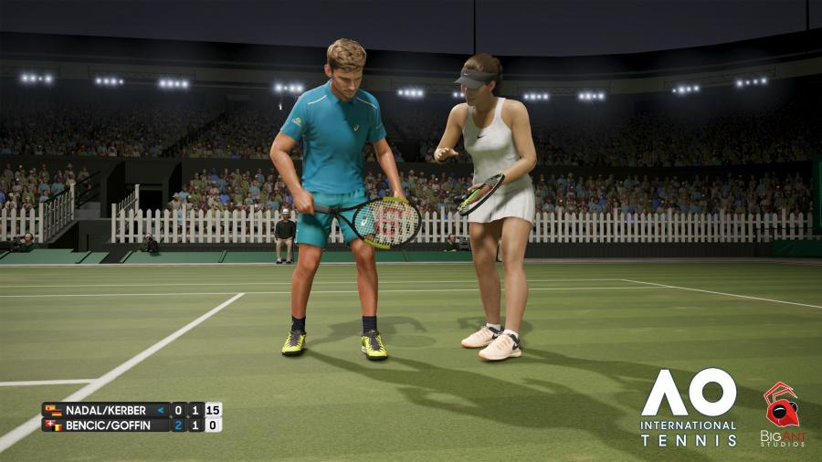 AO International Tennis Review - Screenshot 1 of 3