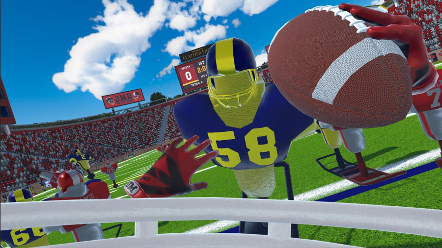 2MD VR Football Review - Screenshot 1 of 3