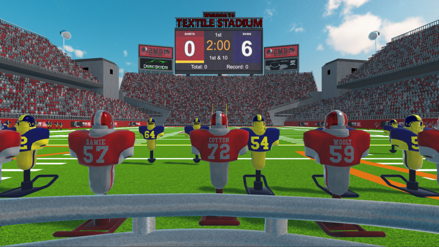 2MD VR Football Review - Screenshot 1 of 2