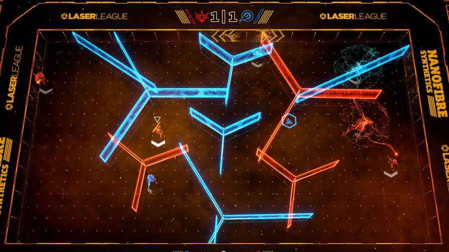Laser League Review - Screenshot 2 of 4