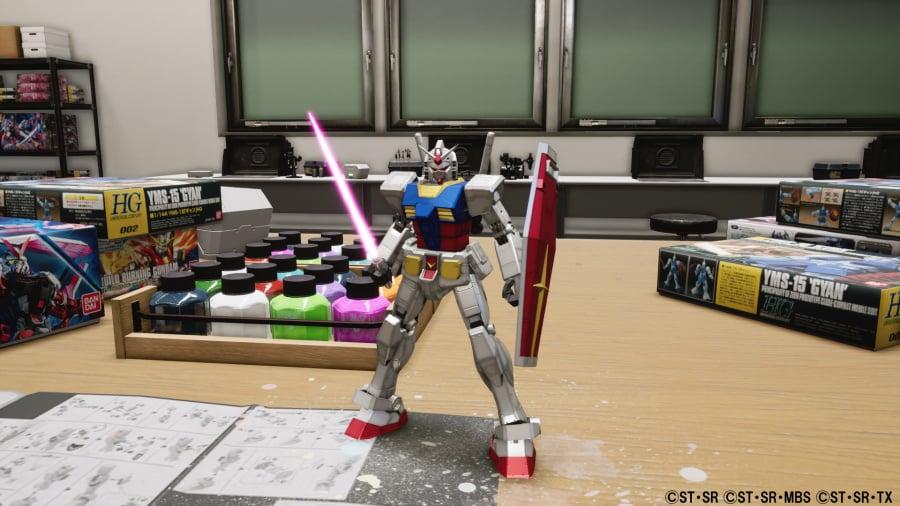 New Gundam Breaker Review - Screenshot 2 of 5