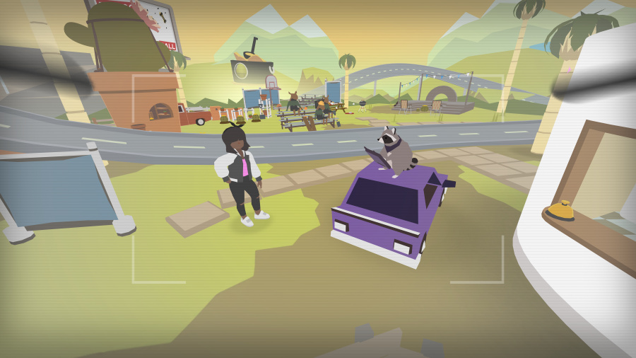 Donut County Review - Screenshot 1 of 2