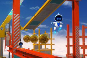 Astro Bot Rescue Mission Screenshot