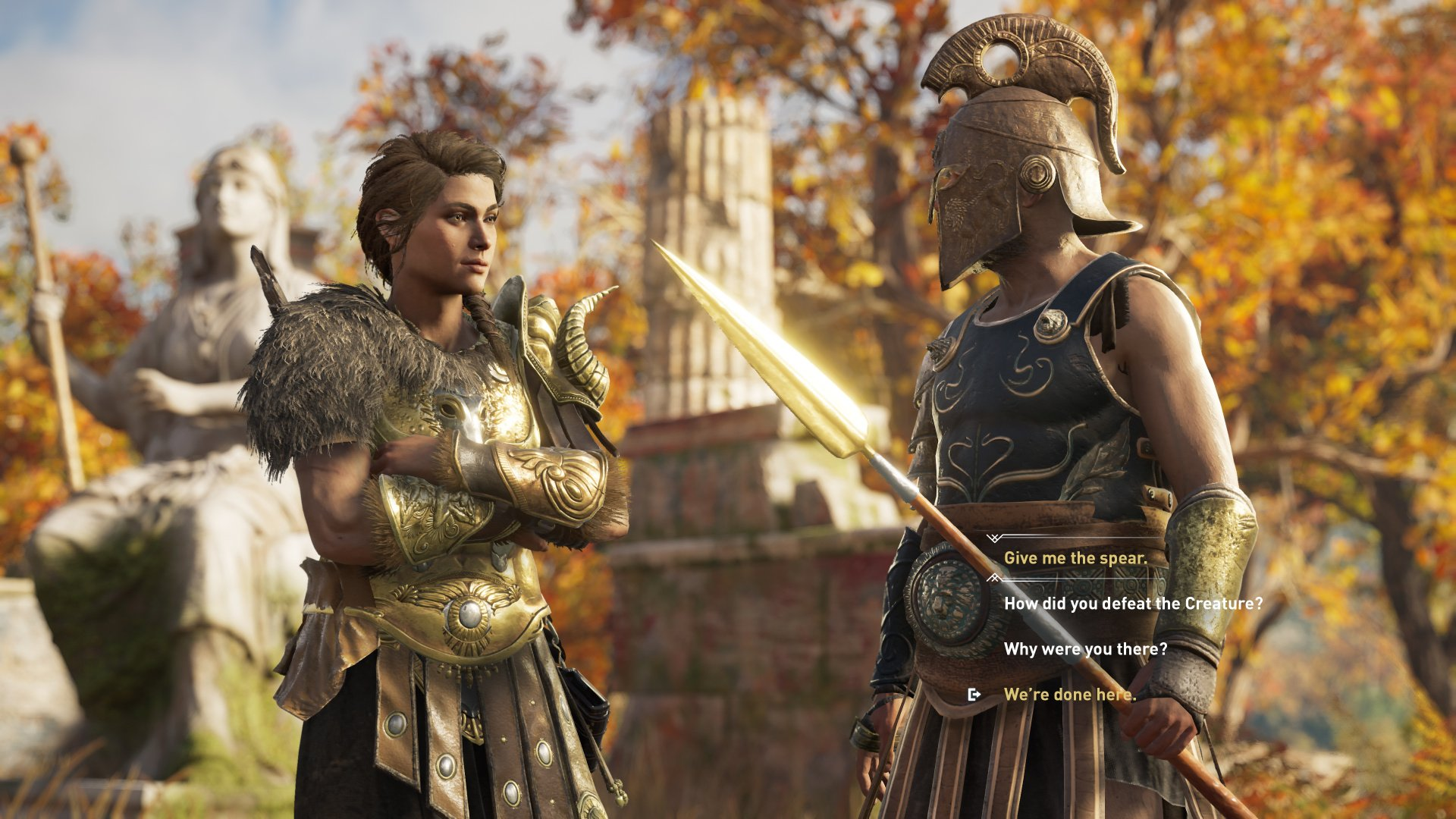 Assassin S Creed Odyssey Review Ps4 Push Square