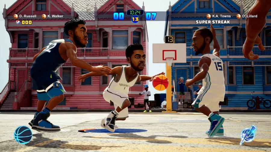 NBA 2K Playgrounds 2 Review - Screenshot 2 of 4