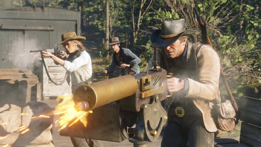 Red Dead Redemption 2 Review - Screenshot 5 of 6