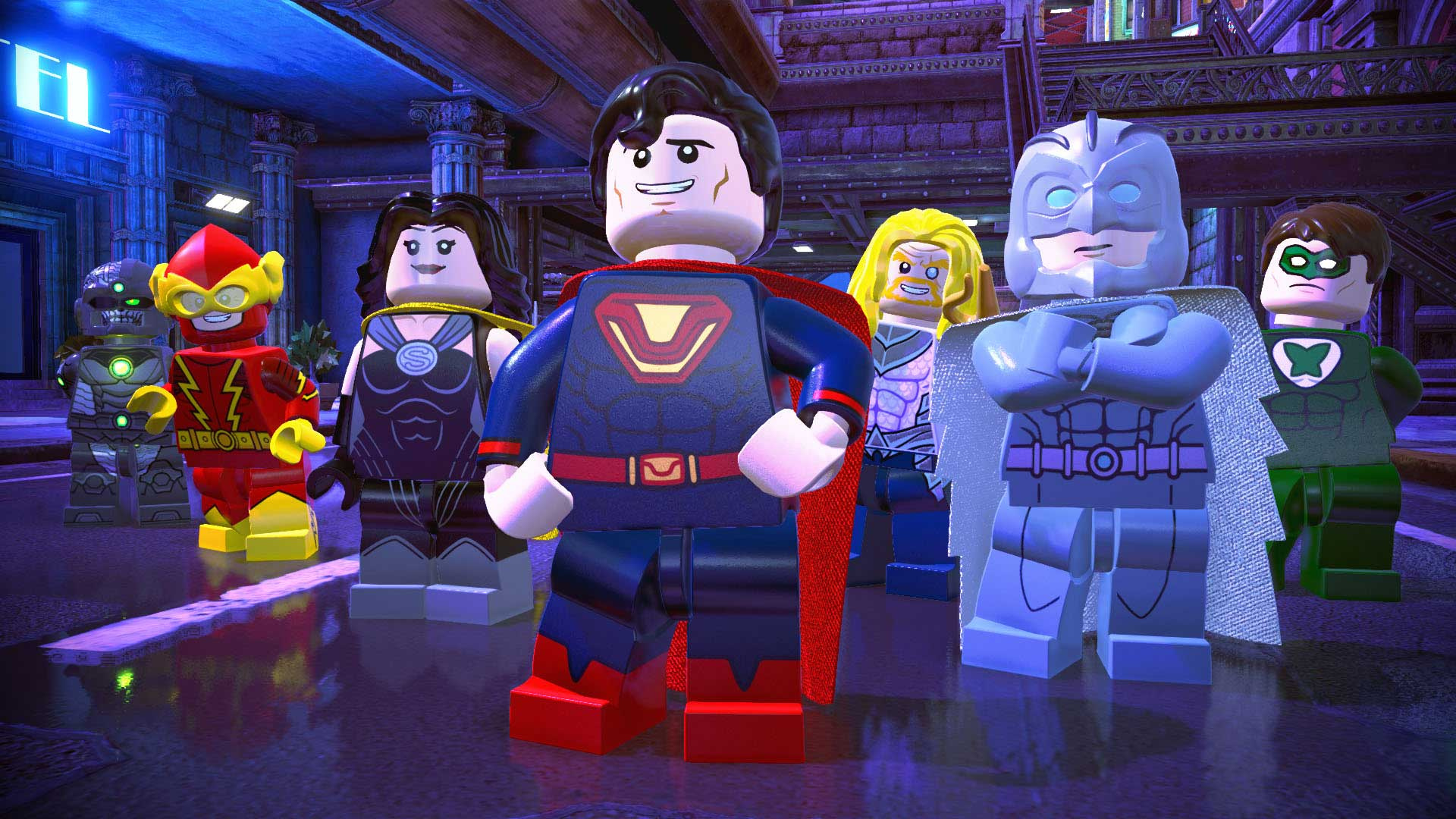 Lego Dc Super Villains Ps4 Playstation 4 Game Profile