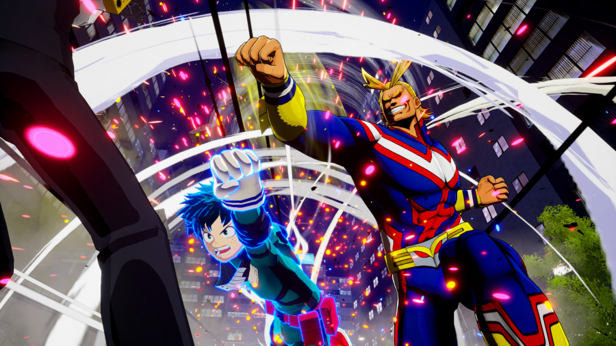 My Hero One's Justice Review - Screenshot 3 of 4