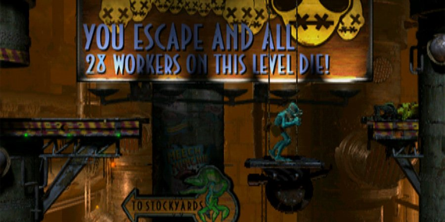 Oddworld: Abe's Oddysee Review - Screenshot 3 of 3
