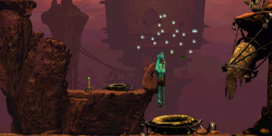 Oddworld: Abe's Oddysee Review - Screenshot 1 of 3