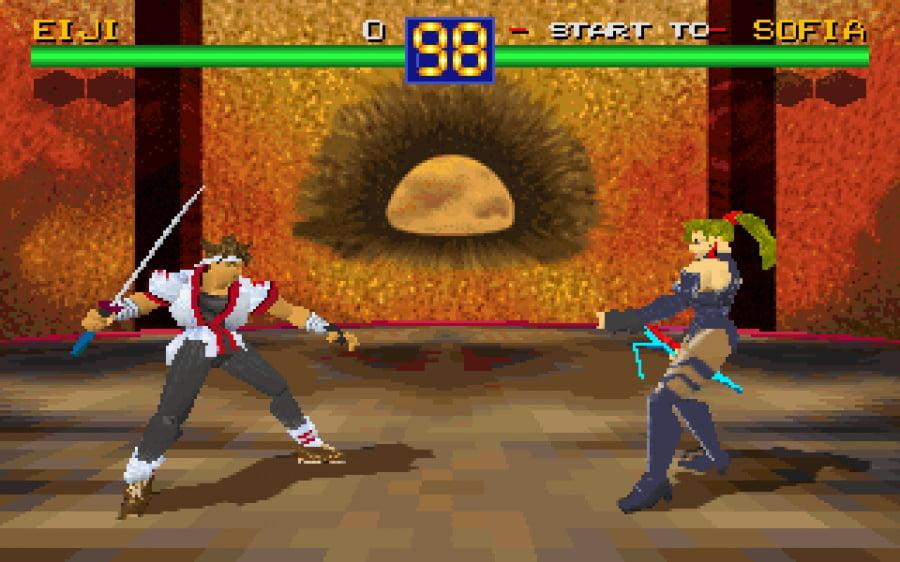 Battle Arena Toshinden Review - Screenshot 2 of 6