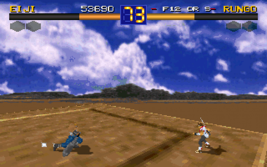 Battle Arena Toshinden Review - Screenshot 1 of 6