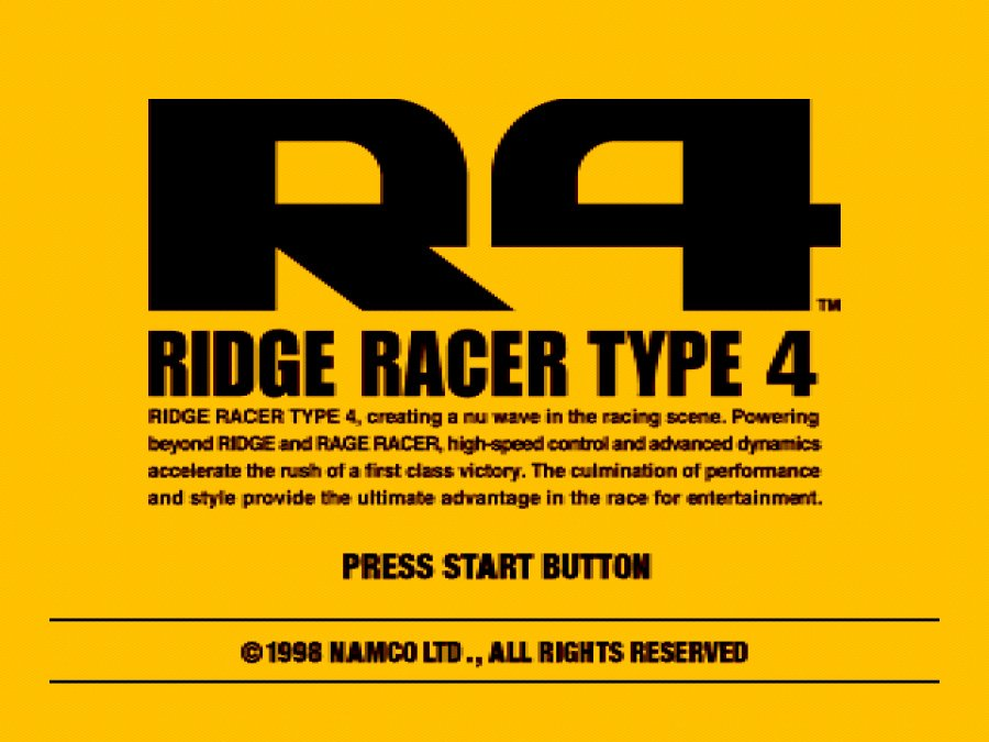 Ridge Racer Type 4 Review - Screenshot 1 of 6