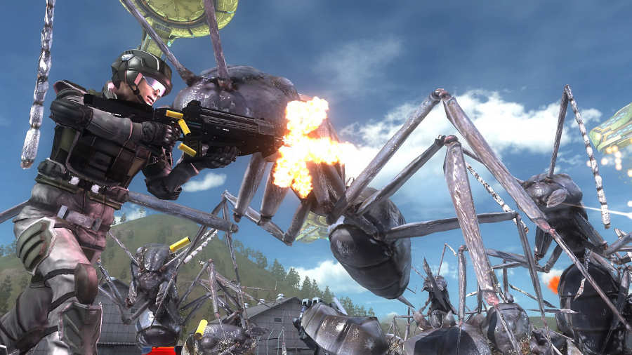 Earth Defense Force 5 Review - Screenshot 1 of 3
