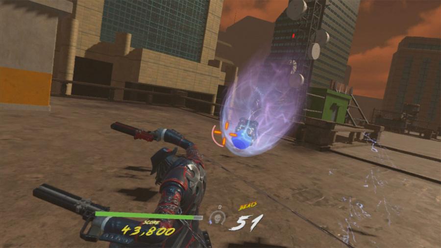 Gungrave VR Review - Screenshot 2 of 3