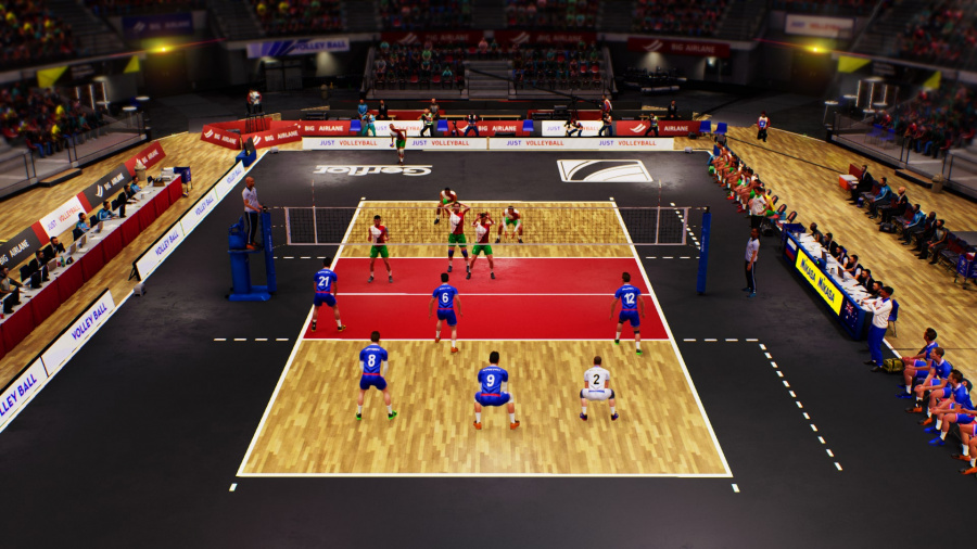 Spike Volleyball Review - Screenshot 1 of 3