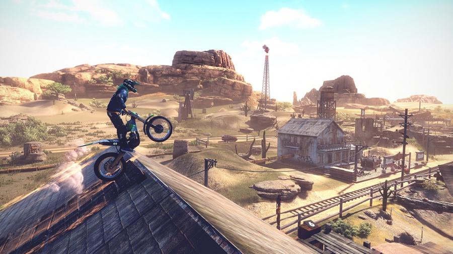 Trials Rising Review - Screenshot 2 of 4