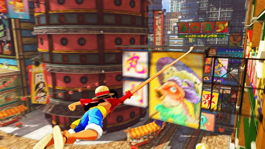 One Piece: World Seeker Review - Screenshot 2 of 5