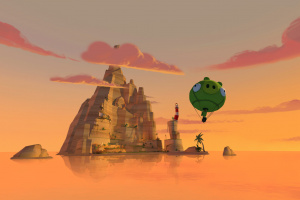 Angry Birds VR: Isle of Pigs Screenshot