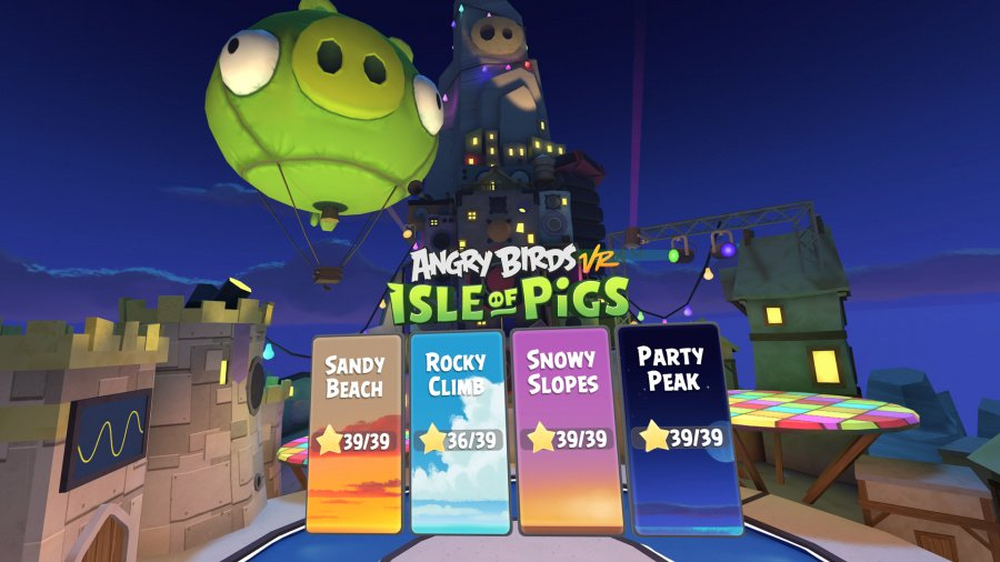Angry Birds VR: Isle of Pigs Review - Screenshot 2 of 3