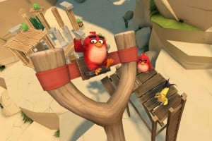 Angry Birds VR: Isle of Pigs Screenshot