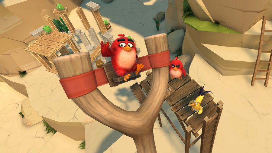 Angry Birds VR: Isle of Pigs Review - Screenshot 1 of 3
