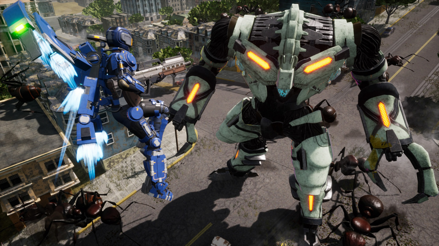 Earth Defense Force: Iron Rain Review - Screenshot 3 of 5