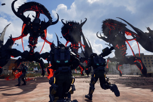 Earth Defense Force: Iron Rain Screenshot