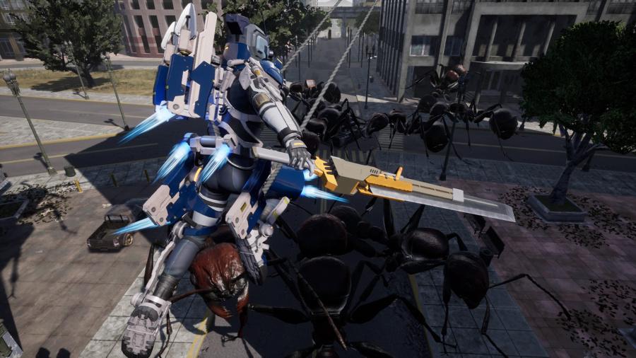 Earth Defense Force: Iron Rain Review - Screenshot 4 of 5