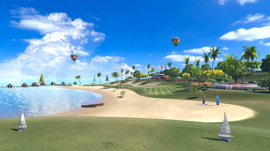 Everybody's Golf VR Review - Screenshot 2 of 3