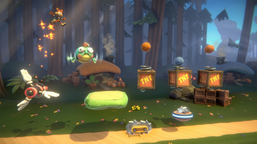 Bubsy: Paws on Fire Review - Screenshot 1 of 3