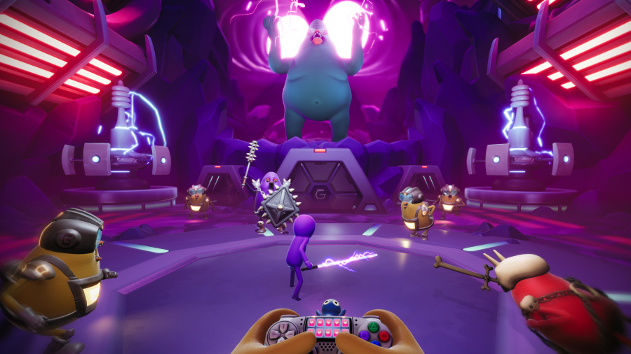 Trover Saves the Universe Review - Screenshot 3 of 4