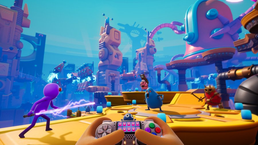 Trover Saves the Universe Review - Screenshot 4 of 4