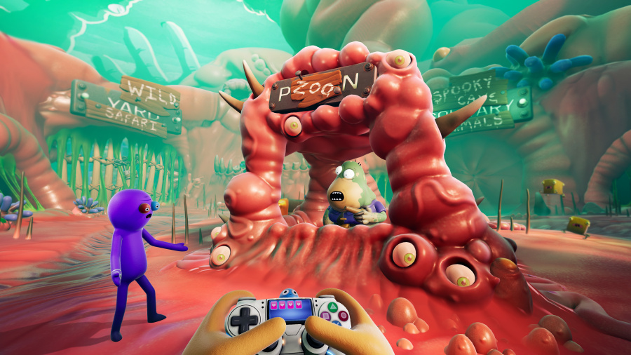 Trover Saves the Universe Review - Screenshot 2 of 4