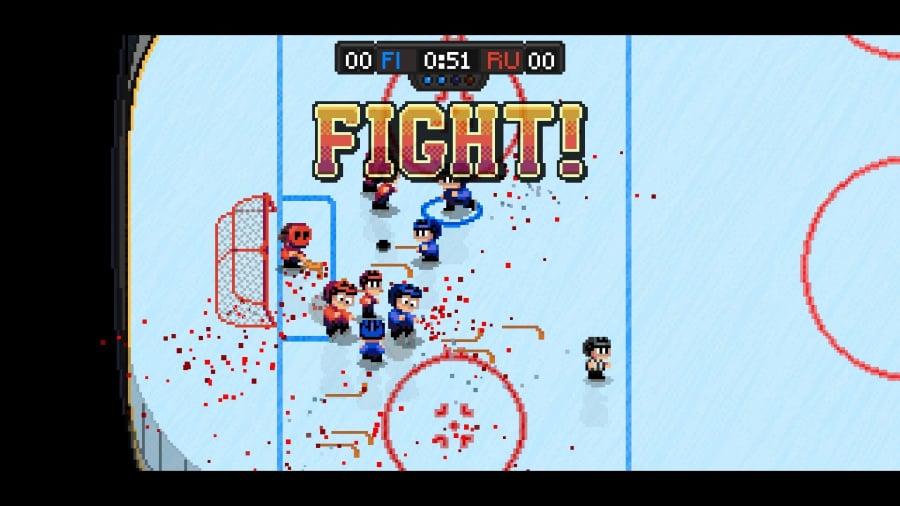 Super Blood Hockey Review - Screenshot 1 of 4