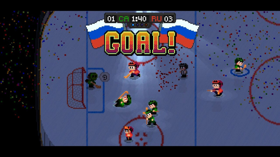 Super Blood Hockey Review - Screenshot 2 of 4