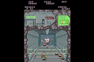 Contra Anniversary Collection Screenshot
