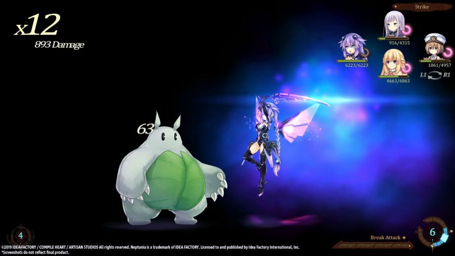 Super Neptunia RPG Review - Screenshot 2 of 3
