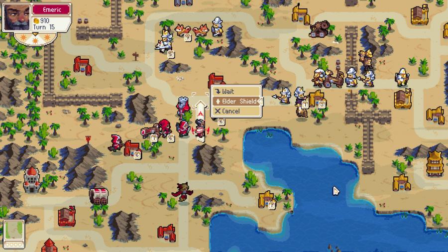 Wargroove Review - Screenshot 2 of 3