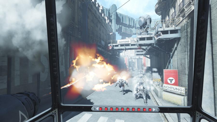 Wolfenstein: Cyberpilot Review - Screenshot 1 of 3