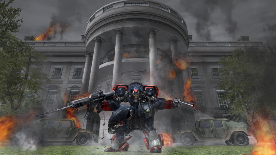 Metal Wolf Chaos XD Review - Screenshot 2 of 2